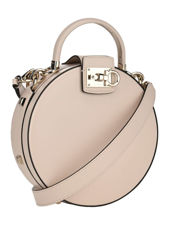 Salvatore Ferragamo Round Studio Bag