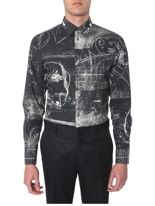 Alexander McQueen John Deakin Printed Shirt