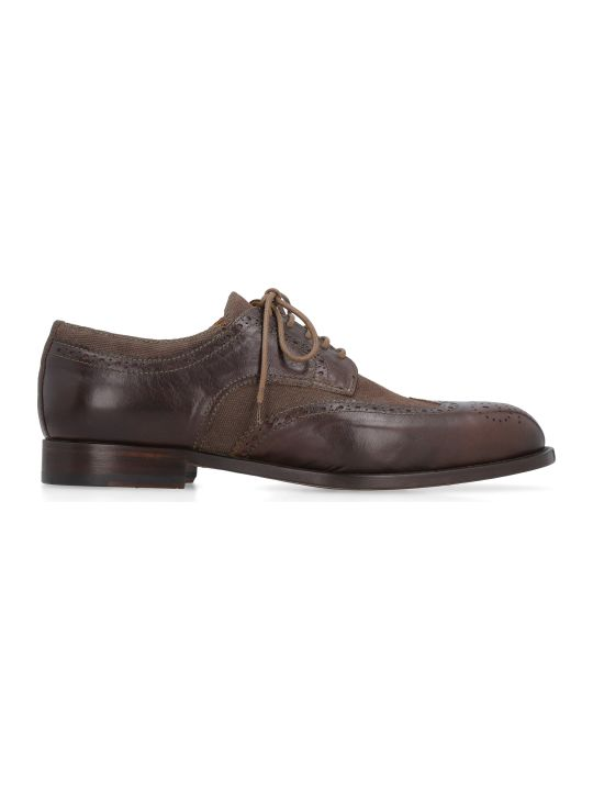 Doucal's Leather Brogue Shoes