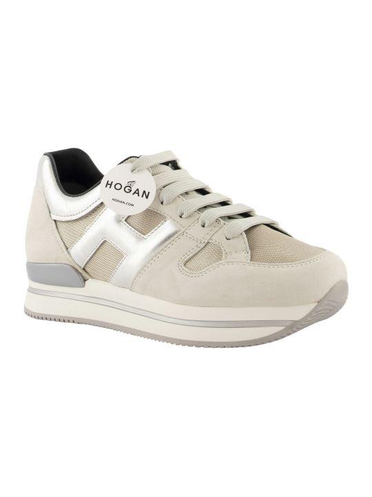 Hogan Sneakers H222 Beige/silver