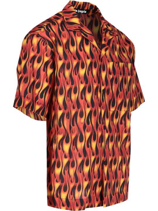 Palm Angels Flames Shirt