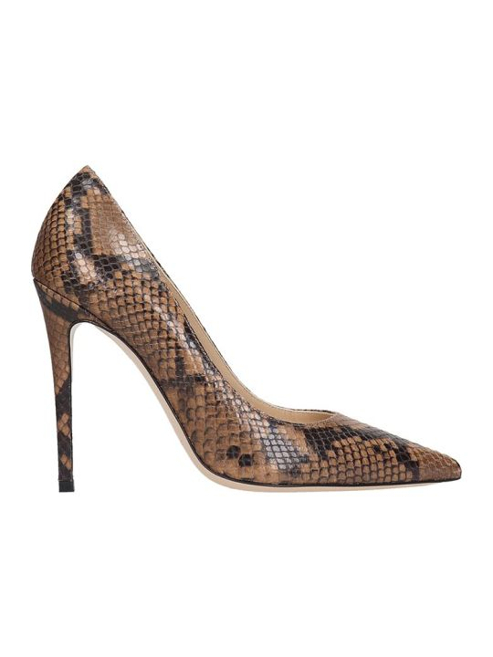 Dei Mille Pumps In Leather Color Leather