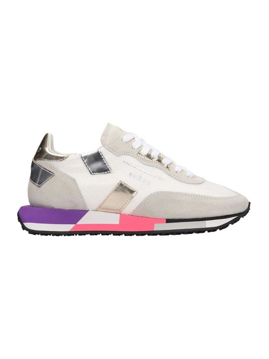 GHOUD Rush Sneakers In White Tech/synthetic