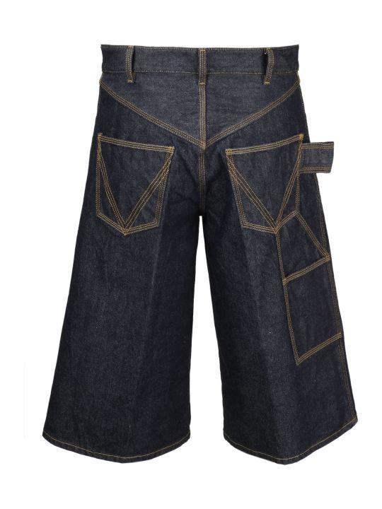 Bottega Veneta Denim Coulotte Pants