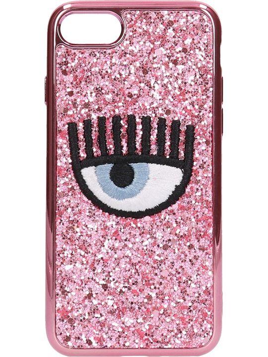 Chiara Ferragni Pink Glitter Iphone 7-8 Cover