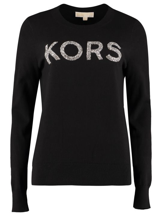 MICHAEL Michael Kors Cotton Crew-neck Sweater