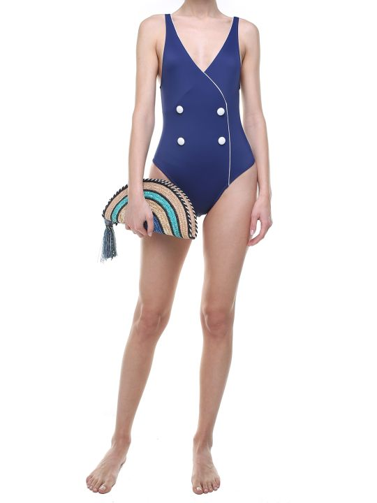 Solid & Striped The Juliette Tuxedo-style Swimsuit