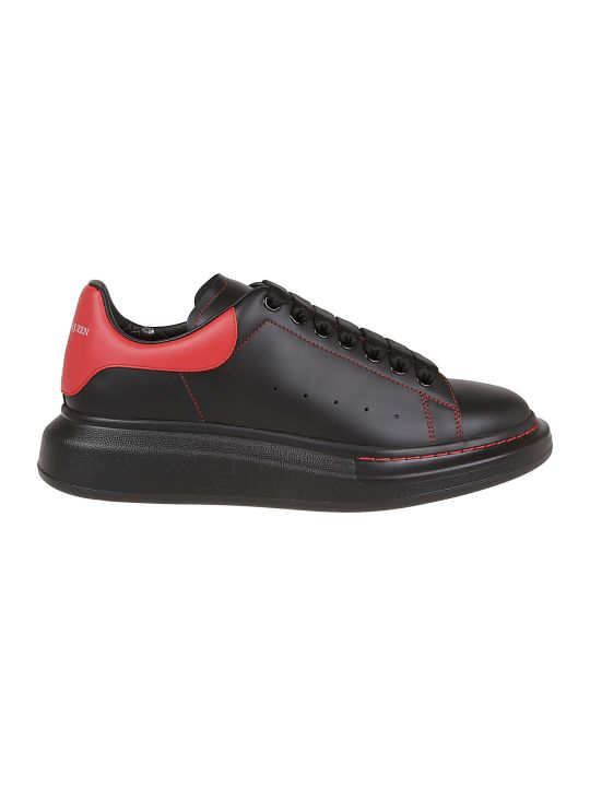 Alexander McQueen Contrast Stitched Sneakers