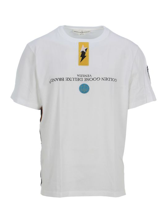 Golden Goose Golden Goose Patches T-shirt