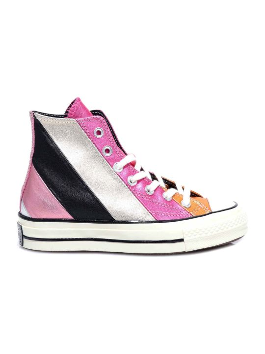 Converse Chuck 70 Metallic Rainbow High Top Sneakers