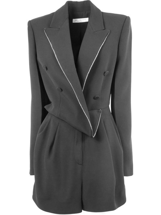 Philosophy di Lorenzo Serafini Suit In Black Fabric