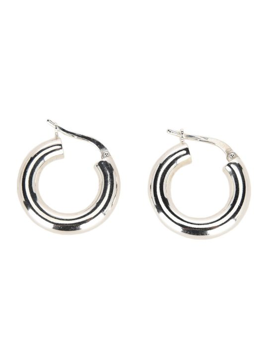 Bottega Veneta Distressed Hoop Earrings