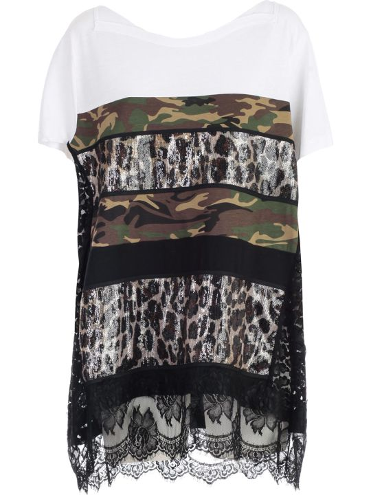 Antonio Marras Paneled T-shirt