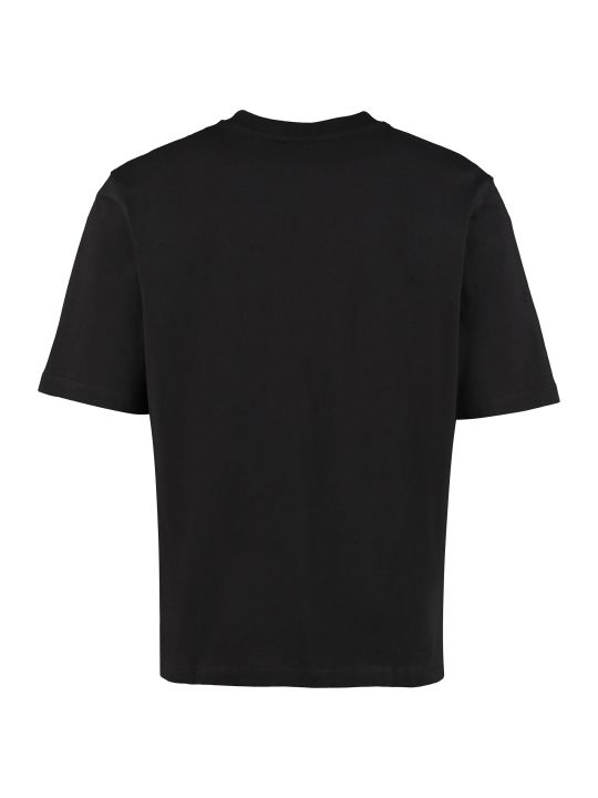 Ami Alexandre Mattiussi Crew-neck Cotton T-shirt