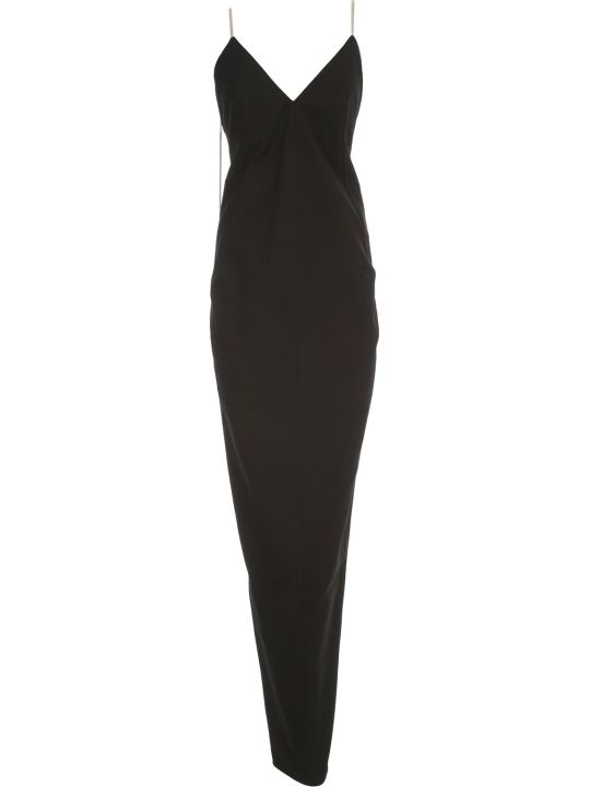 Rick Owens Maillot Gown Dress Thin Strap Long
