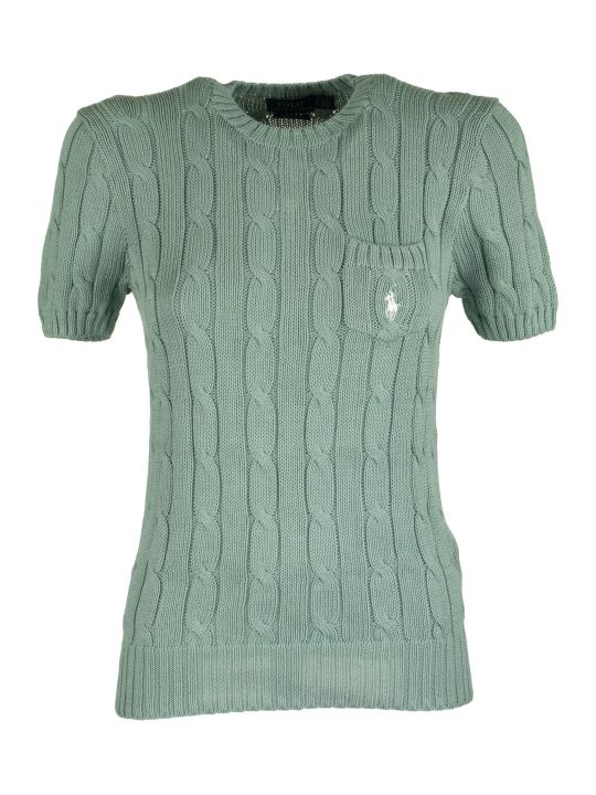 Ralph Lauren Cable Short-sleeve Jumper