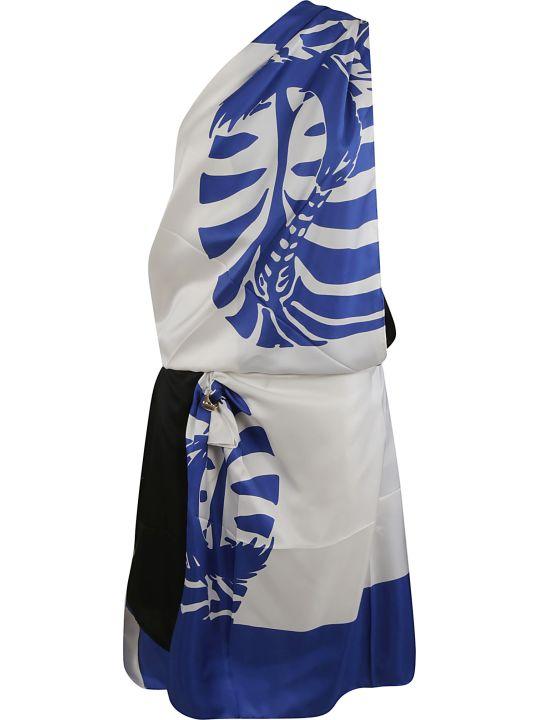 Bottega Veneta Zebra Twill Dress