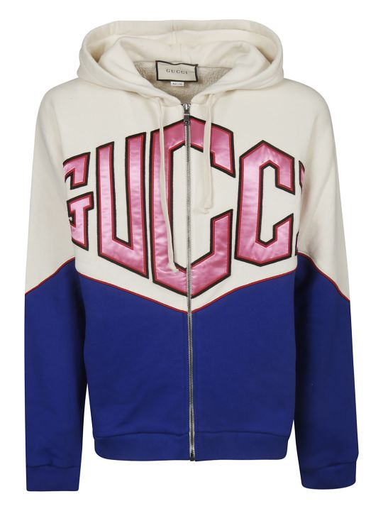 Gucci Hooded Zipped Jacket