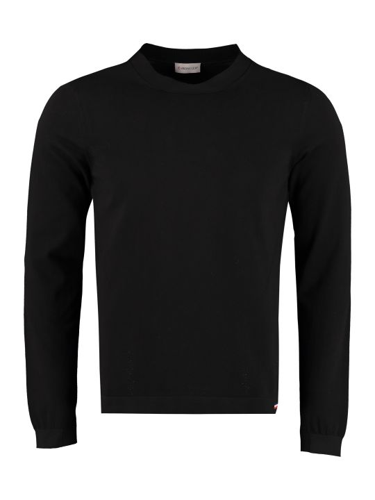 Moncler Long-sleeved Crew-neck Sweater