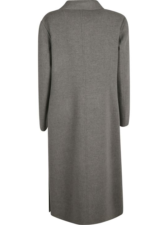 SportMax Double Breasted Buttoned Long Coat