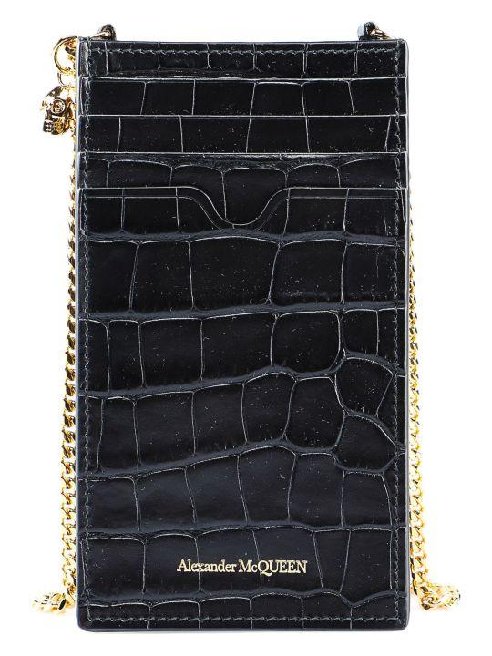Alexander McQueen Phone Case W/chain