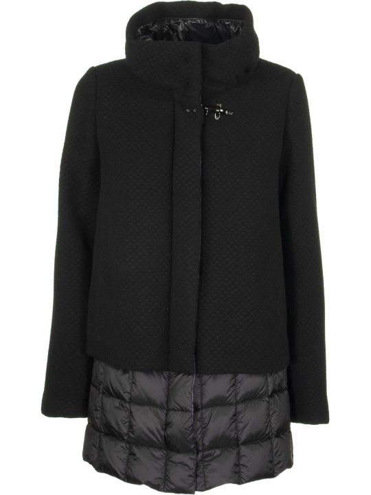 Fay Jackets Down Black