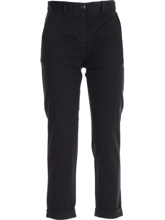 PS by Paul Smith Cropped Slim Fit Trousers
