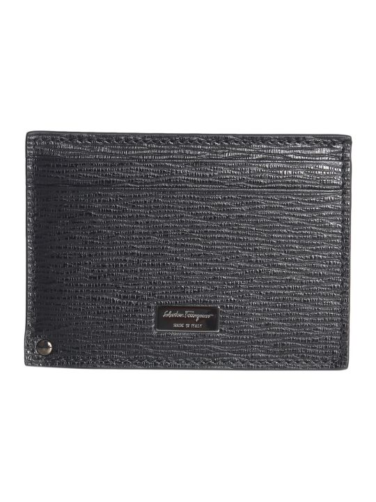 Salvatore Ferragamo Leather Card Holder