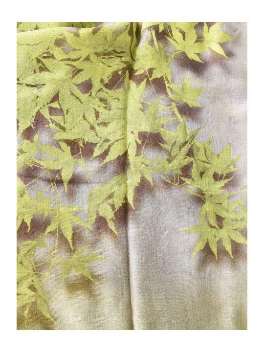 Dries Van Noten Leafy Print Scarf