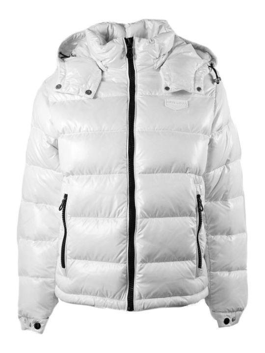 Duvetica Jabbah White Nylon Down Jacket