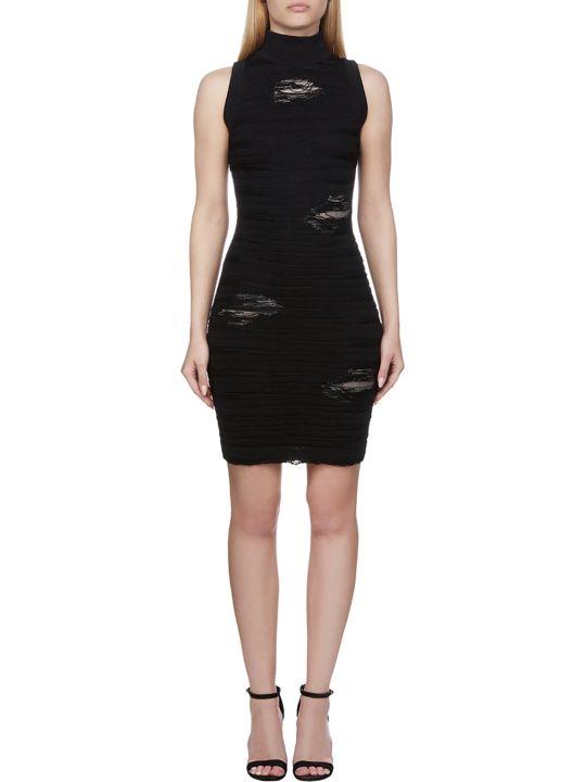 Balmain Distressed Dress