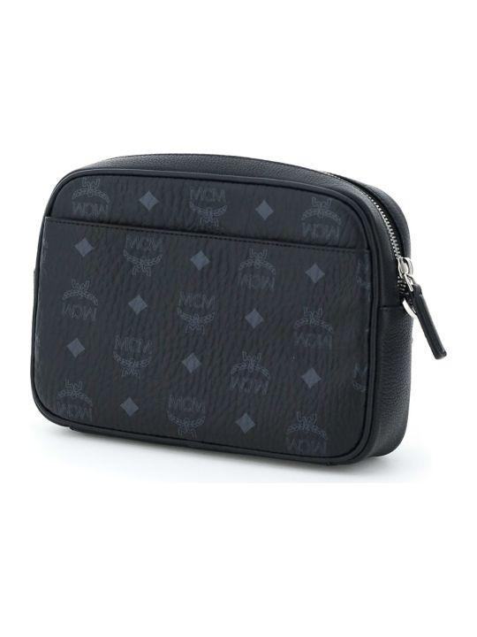 MCM Klassik Small Visetos Crossbody Bag