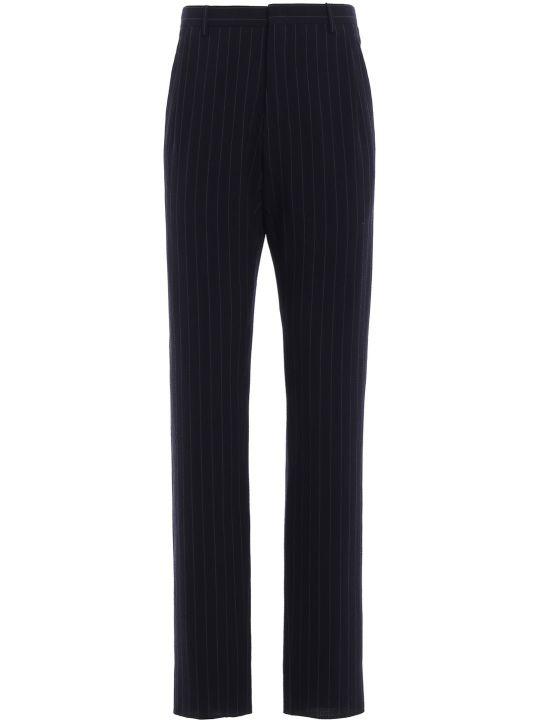 Giorgio Armani Pinstripe Tailored Trousers