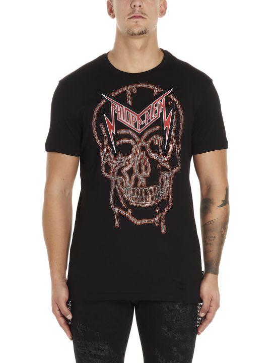Philipp Plein 'crystal Skull' T-shirt