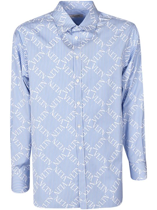 Valentino Logo Grid Shirt