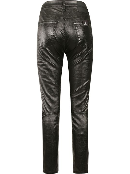 Marcelo Burlon Shiny Biker Pants