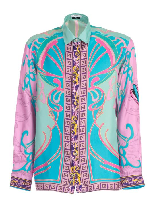 Versace Collection Shirt L/s Fantasty Silk