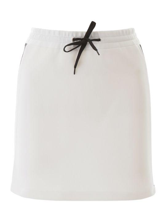Miu Miu Mini Skirt With Logo Bands