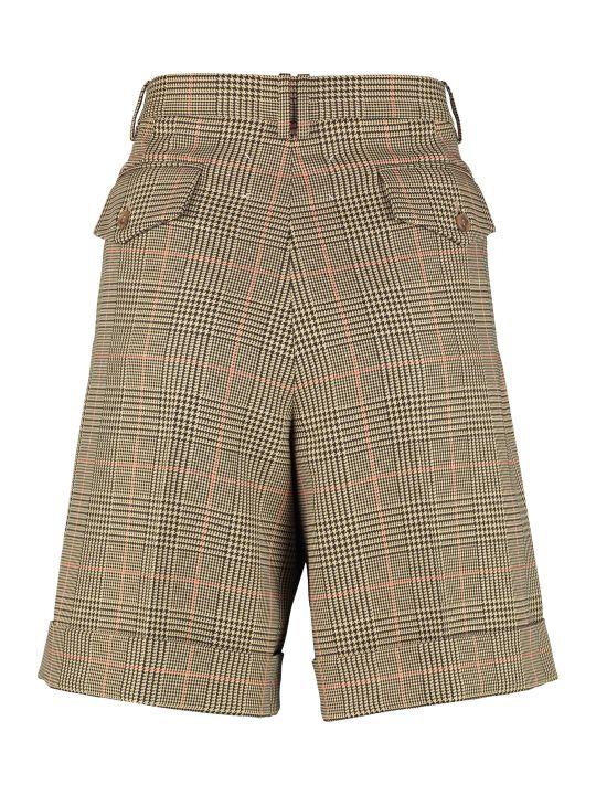 Maison Margiela High-waist Wide-leg Shorts