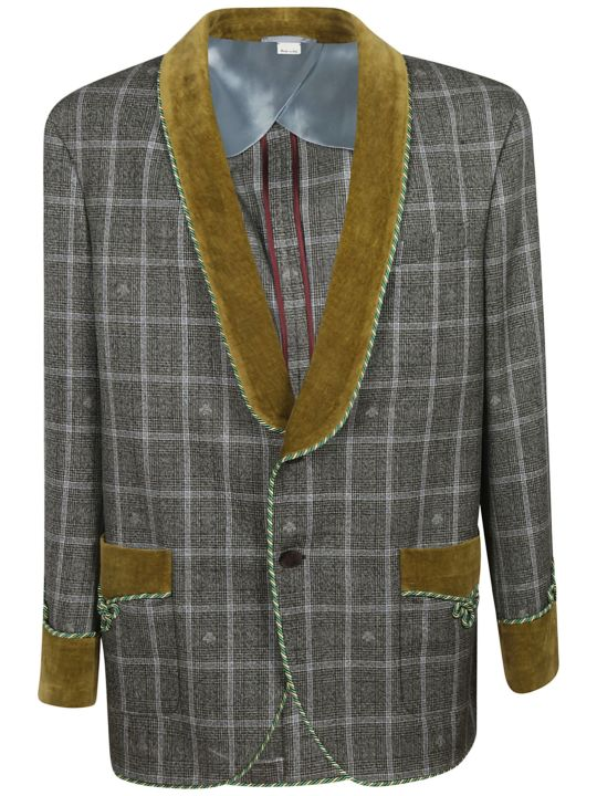Gucci Checked Blazer