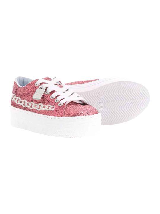 Chiara Ferragni Pink Sneakers