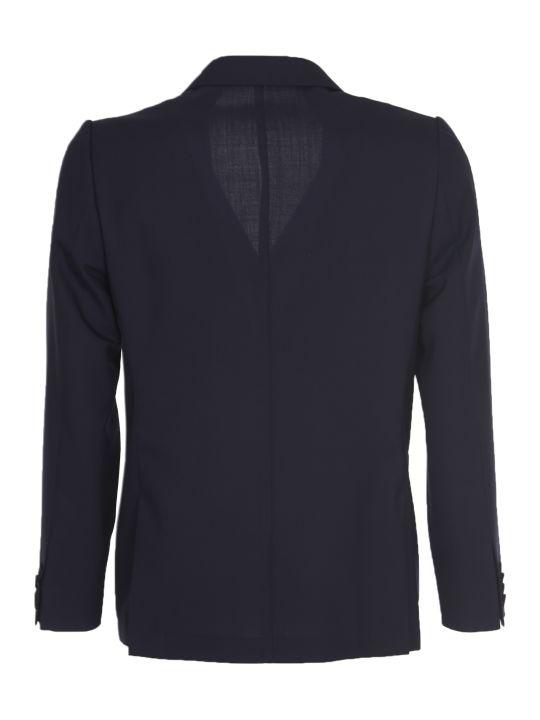 Officine Générale Blue Double-breasted Jacket