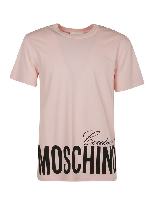 Moschino Couture! Logo Bottom Print T-shirt