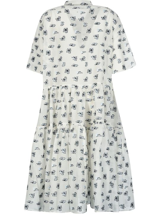 Cecilie Bahnsen Short-sleeve Motif Print Dress