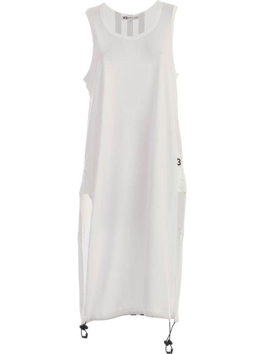 Y-3 Yohji Yamamoto Adidas Drawstrings Dress