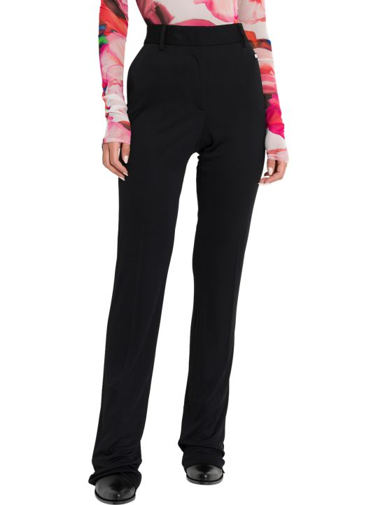 MSGM High-waist Flared Trousers