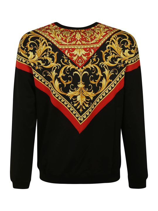 Versace Printed Detail T-shirt