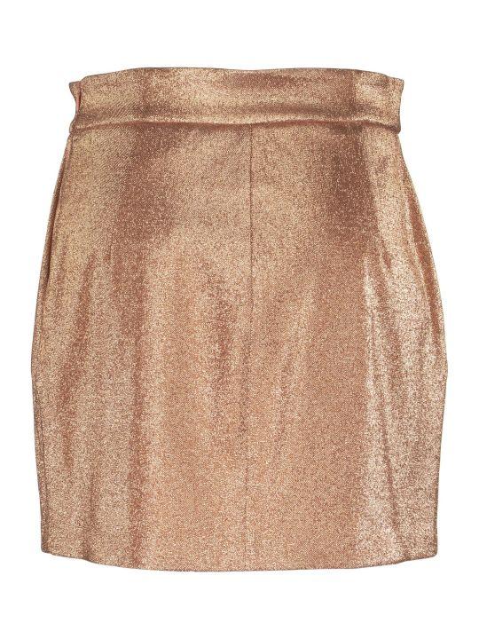 Elisabetta Franchi Celyn B. Lurex Miniskirt
