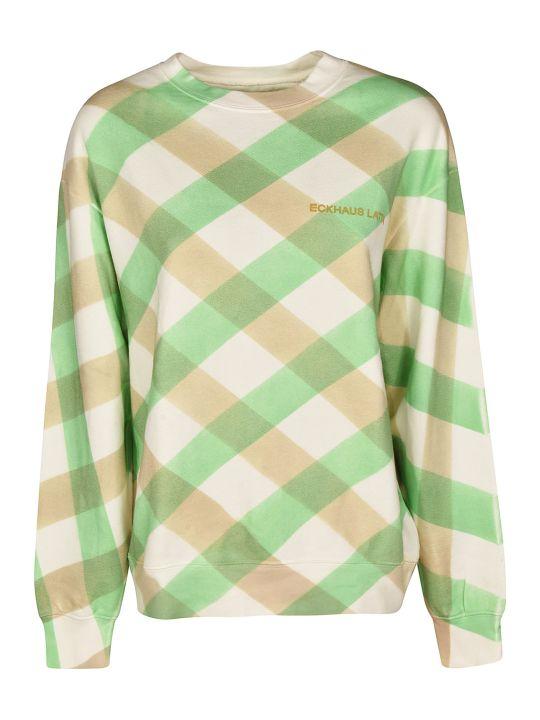 Eckhaus Latta Patterned Sweatshirt