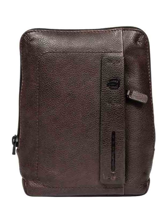 Piquadro Organized Crossbody Bag